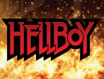 A promotional image for the Hellboy slot at Betway casino.