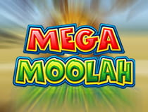 A promotional image for the Mega Moolah slot at Betway casino..