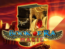 Preview of the Book of Ra Magic slot game.