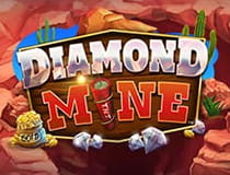 Preview of the Diamon Mine slot game.