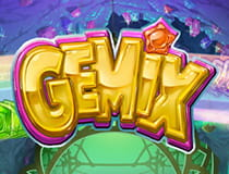 Preview image of the Gemix slot game at Dunder Casino.