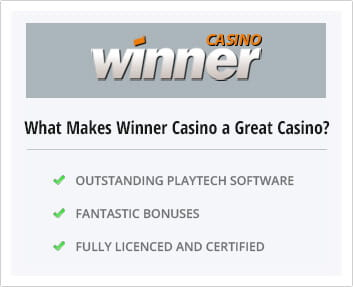 Why Winner Casino is a good choice
