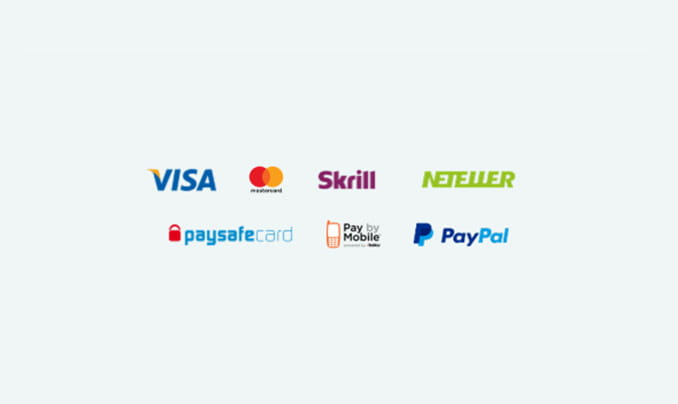 The payment methods available at Casumo.