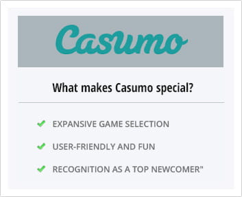 Why should you choose Casumo?