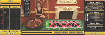 In online casinos the table limits are generally somewhat lower because of the financial risk