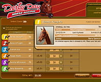 Virtual horse racing Derby Day