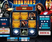Scratchcard Iron Man 2
