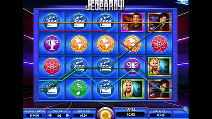 Slot game Jeopardy from IGT
