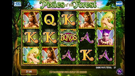 Video slot Pixies of the Forest from IGT