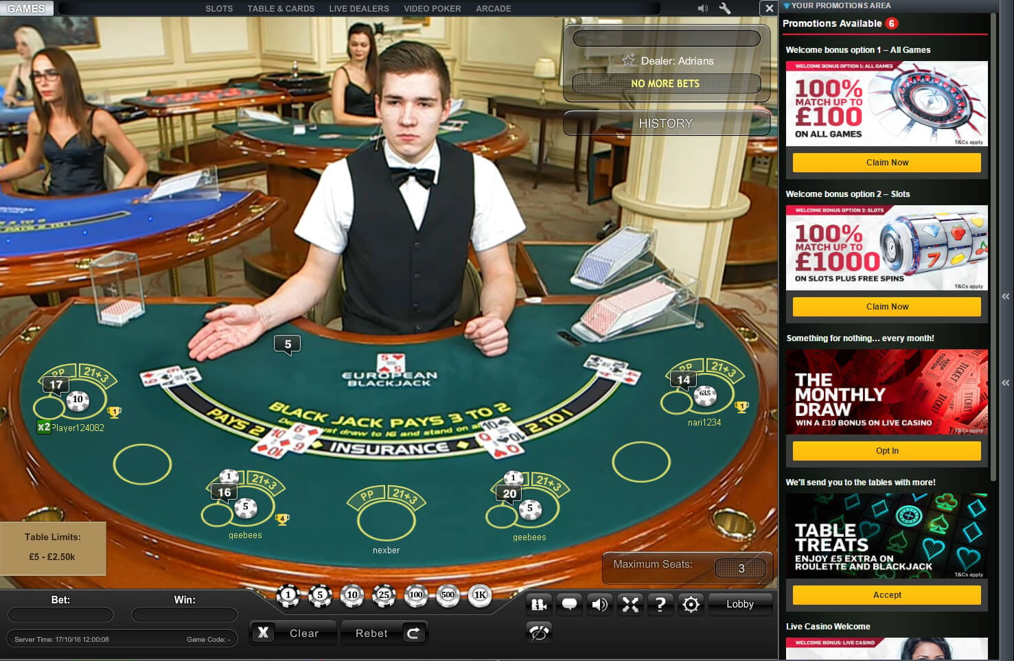 how to play blackjack at casino table