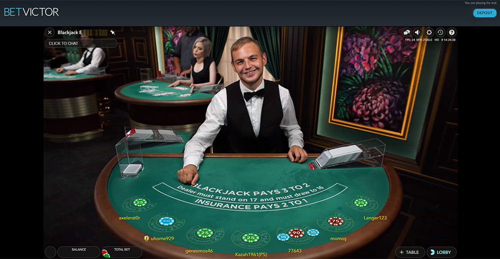Best website to play blackjack for real money