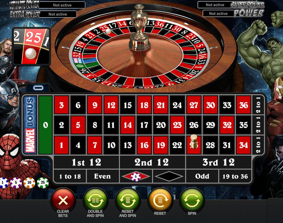 Play New AR Roulette at Casino.com UK