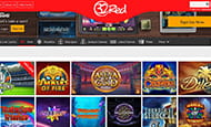A small image of the selection of slots at 32Red.