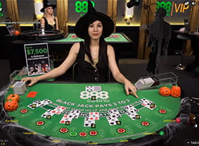 888 Blackjack at 888casino