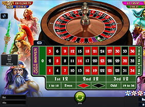 Thumbnail of Age of the Gods Roulette at Betfair
