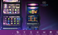 A smaller image of the Genesis Casino slot selection.