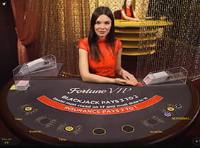 Fortune VIP Blackjack at William Hill