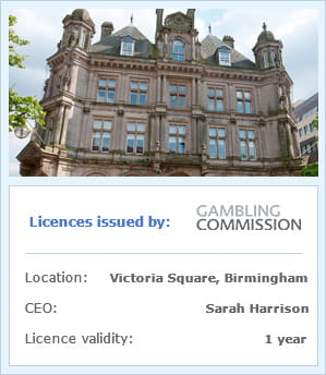 UKGC building and company information