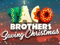 The Taco Brothers Saving Christmas slot at LeoVegas.