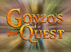 Logo of Gonzo's Quest 3D online slot.