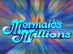 The Mermaids Millions slot game logo, from Microgaming.