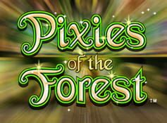 Logo of the Pixies of the Forest slot from IGT.