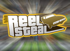 The logo of Reel Steal.