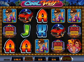 A winning combination in Cool Wolf online slot.