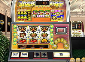 The supermeter mode in Jackpot 6000 online slot.