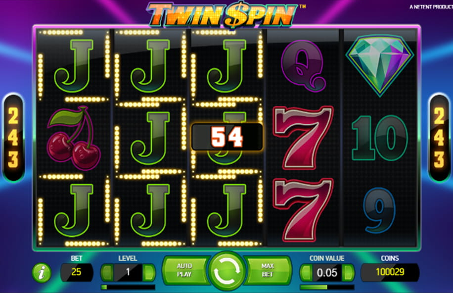 A winning combination in Twin Spin.