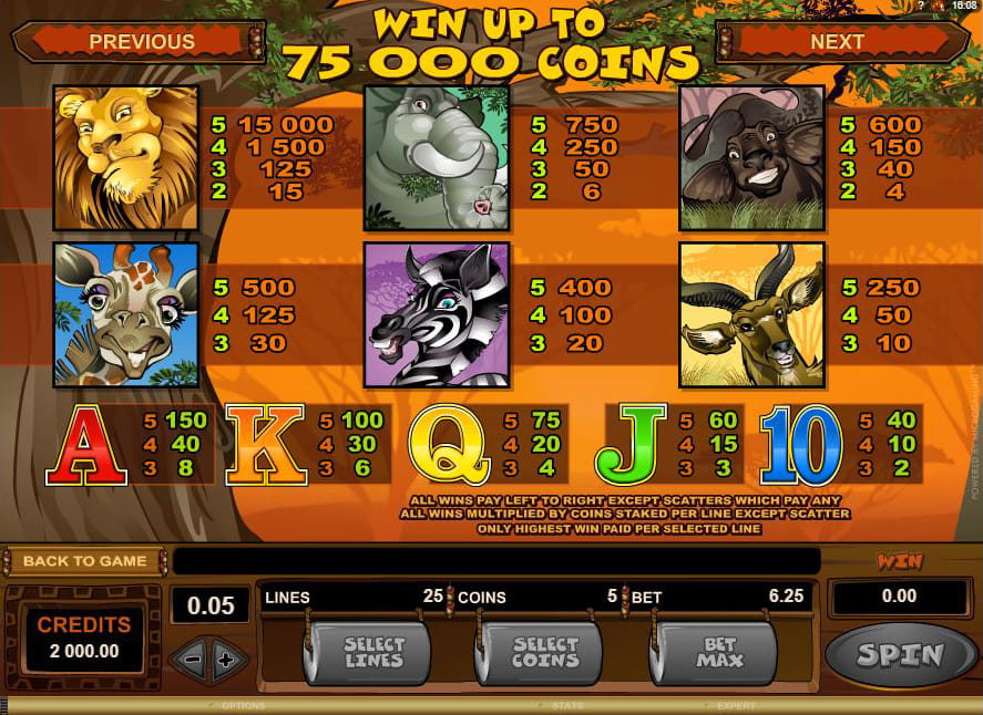 Luxury Casino Mega Moolah
